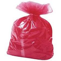 Red Soluble Strip Laundry Bags